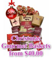 Christmas Gourmet Collection Baskets
