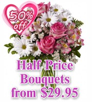 Half Price Bouquets