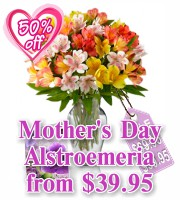 Mother's Day Alstroemeria Specials