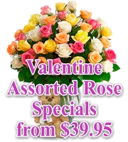 Valentines Assorted Rose Specials