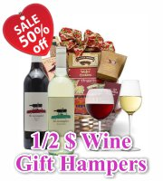 Valentines Wine Hampers
