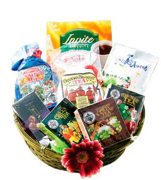 Tea Sampler Basket