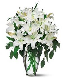 Fresh Lilies Bouquet