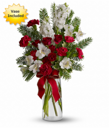 Festive Fragrance with Vase