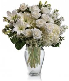 Graceful White Bouquet
