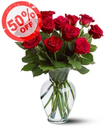 Dozen Red Roses Special I