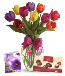 10 Assorted Tulip Combo