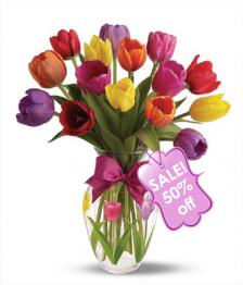 15 Assorted Tulips