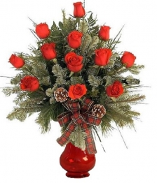 One Dozen Christmas Roses