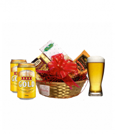 Drink & Snack Basket