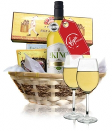 Virgin Wine & Cheese Hamper