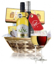 Deluxe Virgin Wine & Cheese Hamper