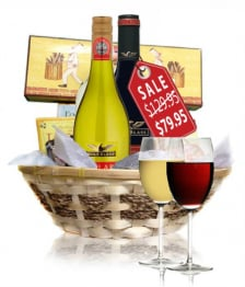 Deluxe Wine & Cheese Hamper