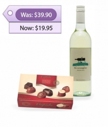 White Wine & Chocolates Special