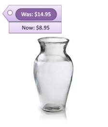 Glass Vase Special