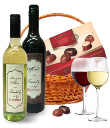 Wine Duo Basket