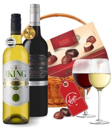 Virgin Wine Duo Basket