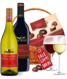 Deluxe Wine Duo Basket