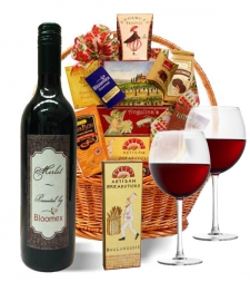 Premium Red Wine Basket