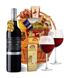 Premium Red Wine Basket
