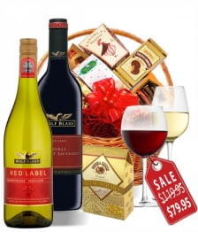 Deluxe Wine Lovers Basket