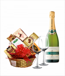 Champagne Lovers Basket