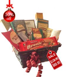 Country Christmas Gift Basket IV