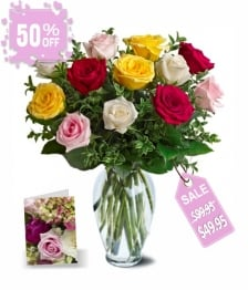 Mothers Day Rose Special I