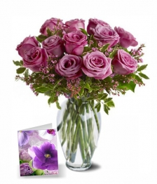 Mothers Day Lavender Roses III