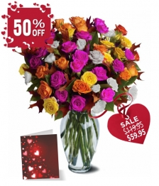 100 Blooms of Spray Roses Special I
