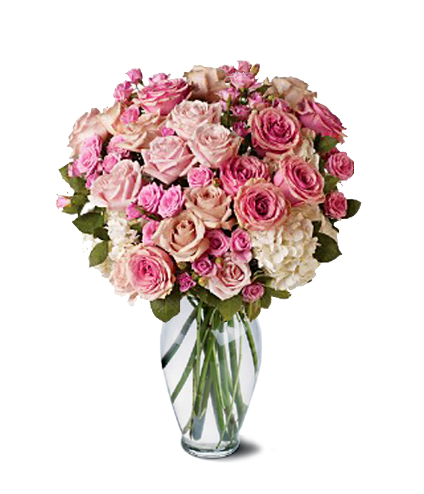 Pink and Cream Bouquet