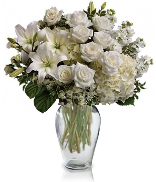 Graceful White Bouquet