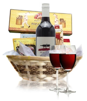 Red Wine & Cheese Hamper