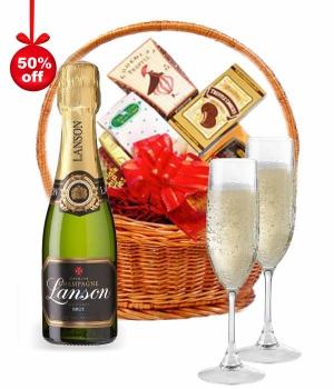 Lanson Champagne Hamper