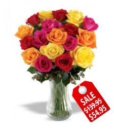18 Assorted Roses Special