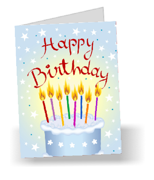 Full Size Birthday Card